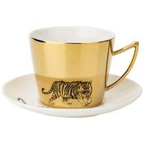 Чайный Набор Tiger На 1Пер. 2Пр. 220Мл, Золотой - Rongshengyuan
