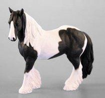 Лошадь черно-белая 16*15 см - The Leonardo Collection