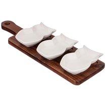 Блюдо Для Сервировки Стола Коллекция Buffet 35x10,5x1,5 см - Porcelain Manufacturing Factory