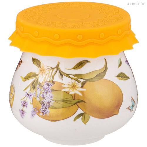 Баночка С Силиконовой Крышкой Прованс Лимоны 300 мл - Shunxiang Porcelain