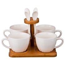 Чайный Набор На 4 Персоны 12Пр. 200 мл На Подставке - Yinhe Ceramics