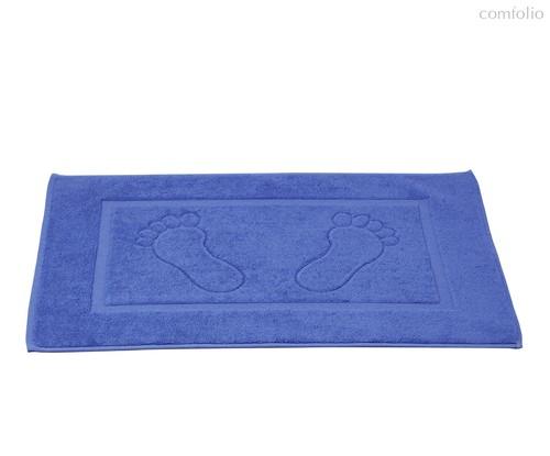 """Коврик махровый """"KARNA"""" GREN (50x70) см 1/1, цвет голубой, 50x70 - Bilge Tekstil"""
