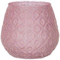 Подсвечник Розовая Дымка Диаметр 11 см ,Высота 10,5 см 4 шт. - Dalian