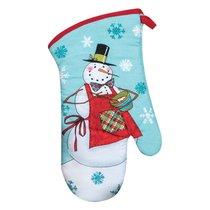 """Варежка-прихватка KAY DEE DESIGNS """"Рождественская история.Снеговик"""" 13х33см - Kay Dee Designs"""