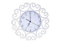 Donolux Classic часы настенные круглые, 41х41 см, циферблат белого цвета, арматура цвета состаренной - Donolux