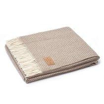 Плед ASMANA 400 3, цвет светло-коричневый, 150 x 200 - Italian Woollen Treasures