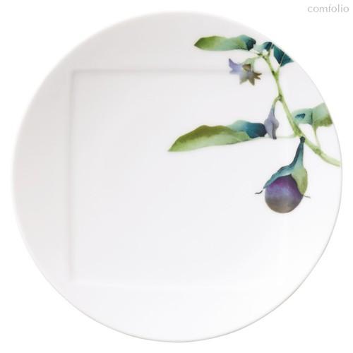 "Тарелка десертная Noritake ""Овощной букет"" ""Баклажан"" 16см, 16 см - Noritake"