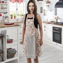 Фартук кухонный Karna с салфеткой 30x50, цвет серый - Karna (Bilge Tekstil)