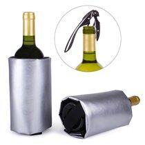 Набор для вина Deluxe серебряный, цвет серебряный - Koala