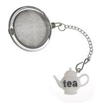 """Ситечко для чая Prodyne 6х5х11см """"Чайник"""" (белое), сталь - Prodyne"""