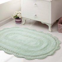 Коврик для ванной Diana, кружевной, цвет зеленый, 50x80 - Bilge Tekstil