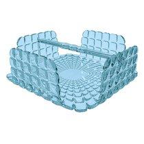 Салфетница квадратная Tiffany голубая - Guzzini