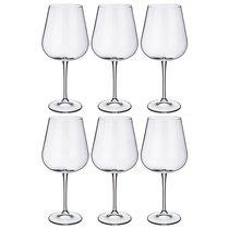 Набор бокалов для вина из 6 шт. AMUNDSEN/ARDEA ВЫСОТА=24,5 СМ 670 МЛ (КОР=1Набор.) - Crystalite Bohemia