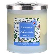 """Свеча в банке с крышкой, с 2 фитилями Portmeirion """"Ботанический сад. Душистый горошек"""" 10см - Portmeirion"""