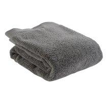 Полотенце для рук темно-серого цвета из коллекции Essential, 50х90 см - Tkano