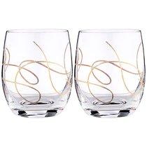 Набор стаканов STRING из 2 шт. 300 мл - Crystalex