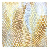 "Скатерть с рисунком ""Ультра yellow"", P434-1920/2, 170х170 см, цвет желтый - Altali"