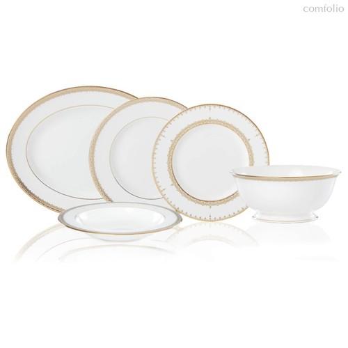 Сервиз столовый Lenox Золотые кружева на 6 персон 20 предметов, фарфор - Lenox