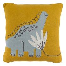 Подушка декоративная Динозавр Toto из коллекции Tiny world 35х35 см - Tkano