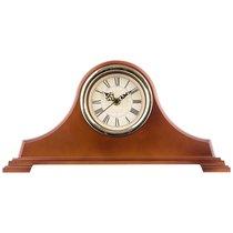 Часы Настольные Кварцевые Royal House 40x20 см Диаметр Циферблата 11 см Цвет Коричневый - Arts & Crafts