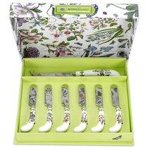 """Набор ножей для масла и ножа для сыра Portmeirion """"Ботанический сад"""" 6шт, п/к - Portmeirion"""