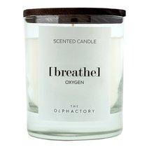 Свеча ароматическая The Olphactory, Breathe Black, Кислород, 40 ч - Ambientair