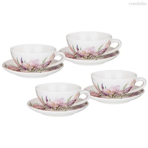 Чайный Набор Lefard Iris 200 мл На 4 Пер. 8 Пр. - Songfa ceramics