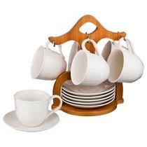 Чайный Набор На 6 Персон 12Пр. 180 мл На Подставке - Yinhe Ceramics