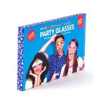 Бумажные очки для вечеринок Crazy Glasses - DOIY