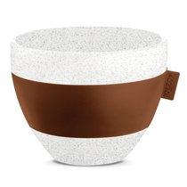 Чашка с термоэффектом AROMA M Organic 270 мл коричневая - Koziol