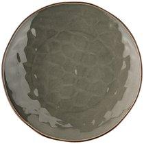 Тарелка Обеденная Sentiment 25 см Серый, цвет серый, 25 см - Songfa ceramics