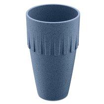 Кружка для латте CONNECT Organic 400 мл синяя - Koziol