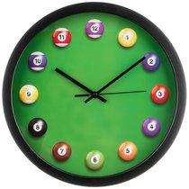 Часы Настенные Кварцевые Бильярд Диаметр 36 см - Arts & Crafts