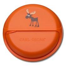 Ланч-бокс для перекусов BentoDISC™ Moose оранжевый, цвет оранжевый - Carl Oscar
