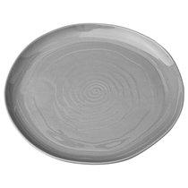 Тарелка Десертная, Диаметр 21 см Без Упаковки, цвет серый, 21 см - Porcelain Manufacturing Factory
