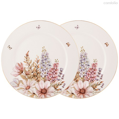 Набор Тарелок Обеденных Lefard Дворцовый Парк 2 Шт. 25,5 см - Kingensin Porcelain Industrial