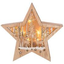 Декоративное Изделие Новогоднее Панно С Подсветкой 26,8x5,3x26,8 см - Polite Crafts&Gifts