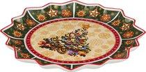 БЛЮДО CHRISTMAS COLLECTION ДИАМЕТР 38 см ВЫСОТА 4 см - Jinding