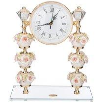 Часы Настольные Capo Di Monte 30x12 см Высота 36 см Циферблат 14,5 см - Claret di Annamaria Gravina