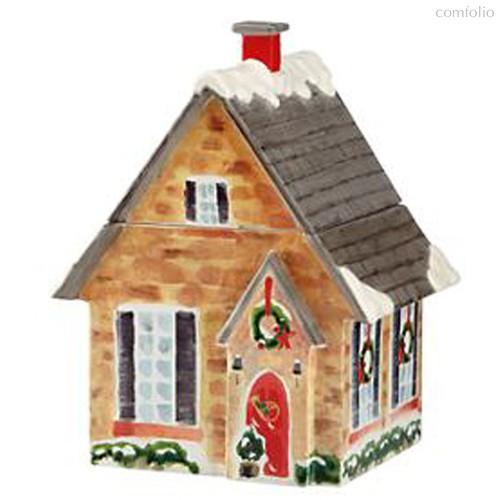 """Банка для печенья Lenox """"Праздничный дом.Новогодние праздники"""" 26см - Lenox"""