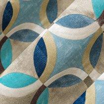 Ткань лонета Ритм блюз ширина 280 см/ 1892/1, цвет синий - Altali