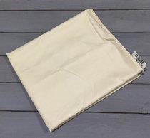 Н-С-50-КРЕМ кремовая наволочка ткань сатин 2шт.-50х70, цвет кремовый, 50x70 - АльВиТек
