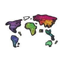 Скретч карта мира Travel Map Magnetic World - 1DEA.me