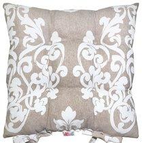 """Подушка на стул """"Флоренция"""", P705-8759/2, 41х41 см, цвет бежевый - Altali"""