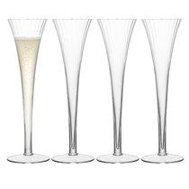 Набор из 4 бокалов-флейт для шампанского Aurelia 200 мл - LSA International