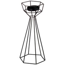 Подсвечник Геометрия 13x11x35 см - Polite Crafts&Gifts