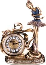 Часы Настольные Кварцевые Балерина 25, 5X12X29, 5 см Диаметр Циферблата 8 см - Shantou Lisheng