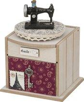 Шкатулка Для Рукоделия 11,5x13x17,5 см - Polite Crafts&Gifts
