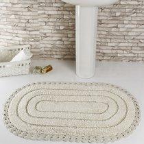 Коврик для ванной Yana, кружевной, цвет кремовый, 60x100 - Bilge Tekstil