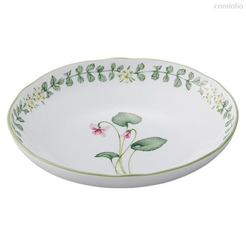 """Тарелка суповая 20см """"Английские травы"""" - Noritake"""